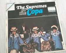 The Supremes At The Copa. Vinyl Recorded Live At The Copacabana New York 1965