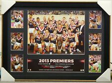 SYDNEY ROOSTERS 2013 NRL PREMIERS PRINT FRAMED - ANTHONY MINICHIELLO