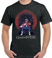 Game of Future Parody Back to the Thrones - Mens Funny T-Shirt