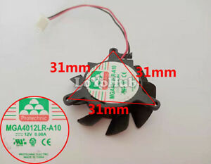 For Dell GT620 graphics card fan Yongli MGA4012LR-A10 12V 0.08A diameter 3.6CM
