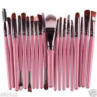 20pcs Professional Soft Makeup Brush Set Foundation Eyeliner Eyeshadow Lip Brush