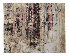 """Hand Knotted Modern Rug 9'10"""" X 8'0"""""""