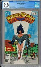 Wonder Woman #3 CGC 9.8 White Pages 1st app Julia & Vanessa George Perez