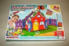 Supermag 3D Magnetic Construction Haus House 60 Pieces