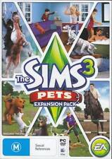 The Sims 3: Pets - PC MAC - expansion pack - fast free post h