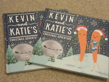 2 KEVIN KATIE CARROT CHRISTMAS ADVENTURES WITH SANTA BOOK  FREE POSTAGE TO UK
