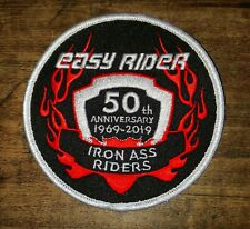 Easy Rider 50th Anniversary Patch for Motorcycle or Movie Enthusiasts