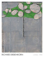 Untitled, 1980 by Richard Diebenkorn Abstract Art Print Poster 26x36