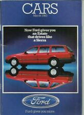 Granada 1983 Car Sales Brochures