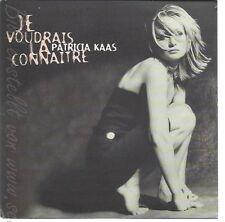 CD--PATRICIA KAAS --JE VOUDRAIS LA CONNAITRE--2 TRACKS-
