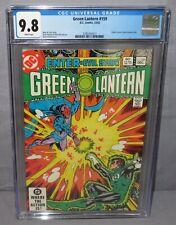 GREEN LANTERN #159 (GL Corps backup story) CGC 9.8 NM/MT DC Comics 1982