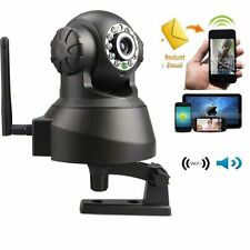 Wireless WIFI IP Webcam Camera Network Night Vision 11 LED IR Dual Audio Baby