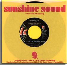 K.C. & The Sunshine Band - Please Don't Go + I Betcha Didn't Know That - 45 RPM!