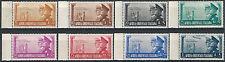 1941 Africa Orientale Italiana Asse 8v SL (MNH) Cat Sass n 34/40+A € 110,00