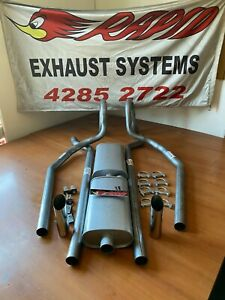 HOLDEN LX-LH TORANA 2 INCH DUAL SYSTEM FROM EXTRACTORS