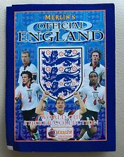 Merlin England FA Empty Stickers Pack, Not Panini. World Cup 1998