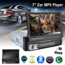 7 '' HD Singolo Din GPS Nav Car In-Dash Bluetooth Stereo MP3 MP5 Player FM Radio