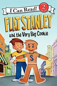 I Can Read Level 2 Flat Stanley and the Very Big Cookie (Paperback) FREEship$35