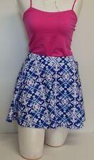 Aeropastle Multicolored Size Medium Skirt Blue short flirty