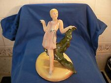 "BESWICK "" LADY STANDING ON A BASE  441 """