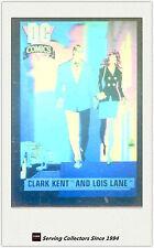 1992 DC Comics Hologram Trading Cards DCH1 Clark Kent & Lois Lane