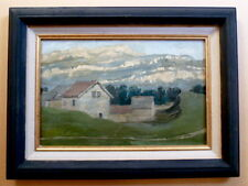 PAYSAGE  PROVENCE PROVENÇAL MONTAGNE non signé à identifier XX impressionniste