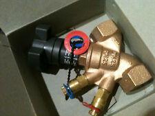 . Robinet d'équilibrage FF en bronze PN 16 Hydrocontrol R OVENTROP DN25 NEUF
