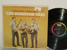 THE KINGSTON TRIO College Concert 1962 Stereo Live 500 Miles MTA Roddy McCorley