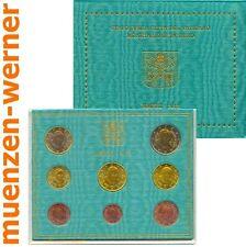 offizieller Kursmünzensatz Vatikan 2013 1c-2 Euro•Münze•KMS alle 8 Münzen Satz
