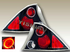 Fit for 2001-2003 Honda Civic 2Dr Altezza Tail Lights G2 Halo Black