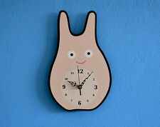 Cute Little Bunny Cartoon - Wall Clock