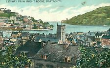 POSTCARD DARTMOUTH  Estuary from Mount Boone