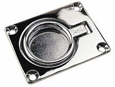 "Boat Hatch Handle Ring Pull Chrome 1-3/4"" x 1-1/2"" Sea-Dog 222400"