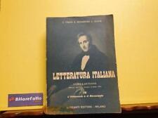 ART 7.499 LIBRO STORIA E ANTOLOGIA DELLA LETTERATURA ITALIANA VOL 4  DEL 1957