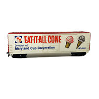 QF9 Vintage HO Life Like Eat-It-All Cone 50' Advertising Box Car Freight Car