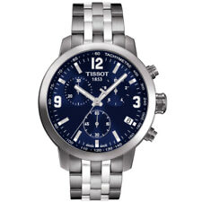 NEW TISSOT MENS SWISS PRC 200 CHRONOGRAPH WATCH - T0554171104700 - RRP £395