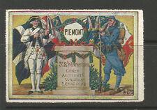 Francia/Primera Guerra Mundial 3rd Regimiento de Infantería delandre cartel Sello/Etiqueta