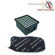 FILTRI HEPA H 12 + filtri a carbone adatto per Vorwerk Folletto VK 130 131 EB 350 351