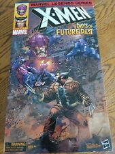 MARVEL LEGENDS WOLVERINE AND SENTINEL DAYS OF FUTURE PAST X-MEN AMAZON EXCLUSIVE