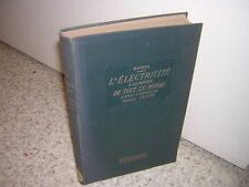 1928.électricité à portée tout le monde/ Maurer.Tsf radium