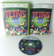 Tetris Evolution Xbox 360 COMPLETE