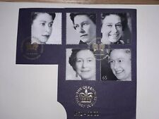 GB QEII The Queen Golden Jubilee 1952-2002. Cut from coin cover.