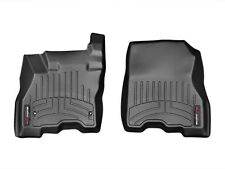 WeatherTech FloorLiner for Nissan Leaf - 2013-2018 - 1st Row - Black