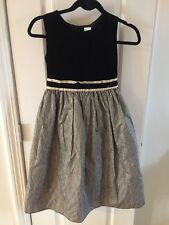 Girls Dress By Perfectly Dressed Size 12 Gold And Black
