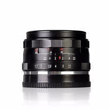 Meike MK-E-35-1.7 35mm f/1.7 Large Aperture Manual Focus lens APS-C For Sony