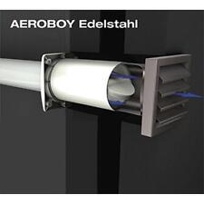 AEROBOY Energiespar Mauerkasten Ø150 mm Edelstahl