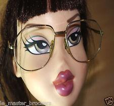HENRY JULIEN TRAVEL OR LAMINÉ 40/0 Monture lunettes optique Made France Vintage