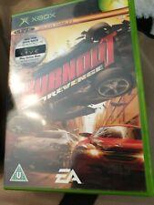Burnout Revenge Microsoft Xbox original PAL Game + livraison gratuite au Royaume-Uni-COMPLET