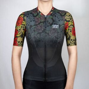 Baisky Cycling-Jersey-Women-Picture Design-Skull Rider (T2349G)