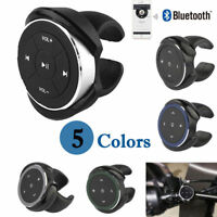 Car Bluetooth MP3 Media Steering Wheel Remote Control  Button for iPhone Android